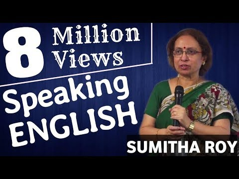 Speaking English | Sumita Roy | TELUGU IMPACT HYD SEPT 2015