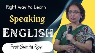 Speaking English by Prof Sumita Roy at IMPACT SEPT 2015