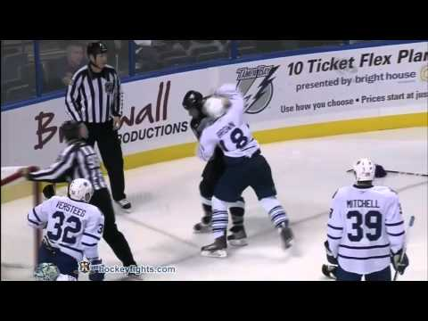 Nate Thompson vs. Mike Brown
