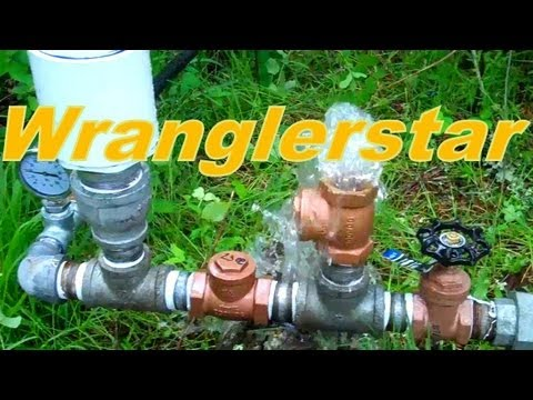 DIY Water Pump That Uses No Electricity -Ram Pump-