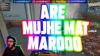 MUJHE MAT MAROO | CARRYMINATI | PUBG MOBILE HIGHLIGHTS