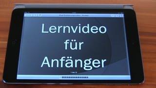 Apple iPad Anfänger Hilfevideo - Tutorial zur Erklärung des iPads - für Einsteiger [German] - dooclip.me