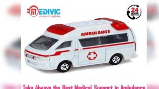 Use Road Ambulance in Janakpuri with Proper Medical Care