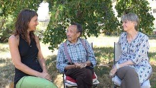 Interview de présentation des intervenants du Sommet : Claire Chanut et Pierre Rabhi
