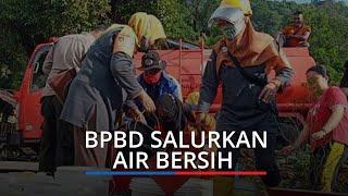 Kota Padang Dilanda Kemarau, BPBD Salurkan Air Bersih di Tiga Kelurahan Terdampak Kekeringan