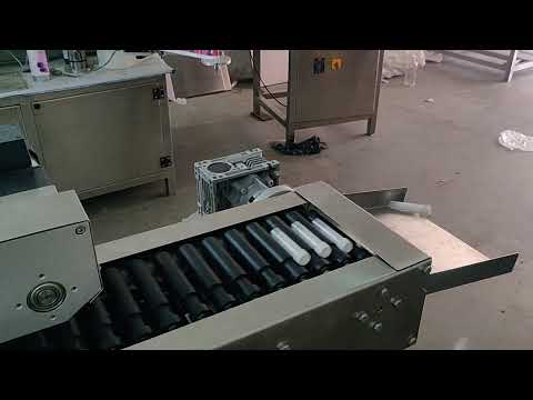 Test Tube Sticker Labeling Machine