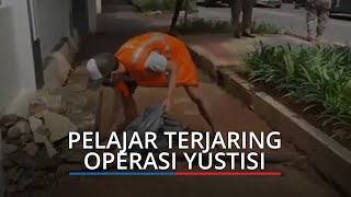 Razia Operasi Yustisi Covid, Pelajar SMK Terjaring Tidak Pakai Masker