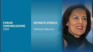 Youtube: Stefania Mancini | I-Tel | Interazione Multicanale | Forum Comunicazione 2020