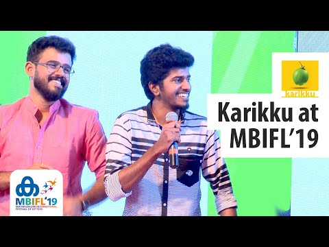 Karikku Team's First Public Appearance | MBIFL 2019