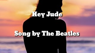The Beatles - Hey Jude (Lyric Video) - YouTube