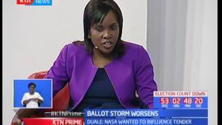 Advocate and political aspirant-Otiende Amollo delves deeper in IEBC's ballot paper printing tender