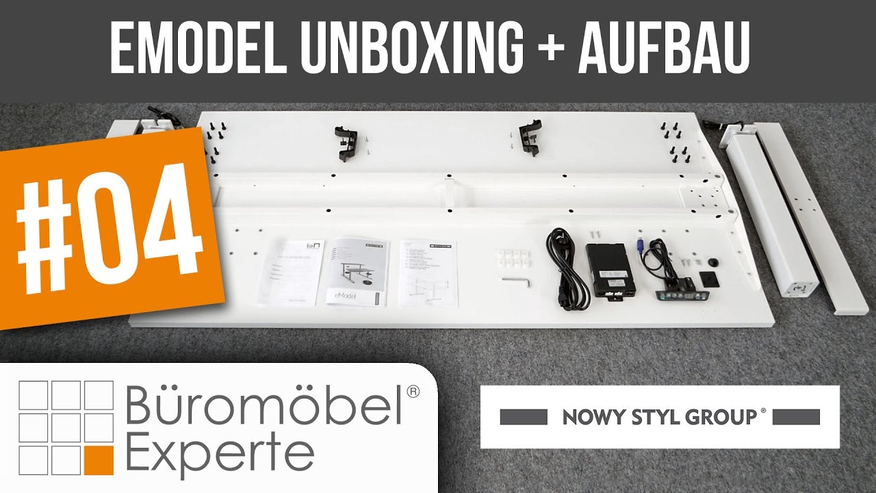 Video zum Steh-Sitz-Tisch eModel Compact-Form