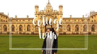 MY CAMBRIDGE COLLEGE   ST. JOHNS COLLEGE TOUR