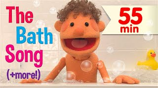 "Stream the full NEW ""The Bath Song & More Kids Songs"" on Amazon Video ► http://amzn.to/2vd573Z  This collection starts off with 3 great videos. Learn about parts of the body vocabulary with ""The Bath Song."" Get creative with ""Rock Scissors Paper Fingerplay #1"" in this twist on the classic game. Practice circle, diamond, square, and heart with ""The Shape Song #1,"" followed by more of your favorite Super Simple Songs videos.   Which new video do you like the most? Let us know in the comments.   Song List:  The Bath Song - 0:00 Rock Scissors Paper Fingerplay #1 - 2:02 The Shape Song #1 - 3:47 Put On Your Shoes - 7:54 Let's Go To The Zoo - 10:49 Sweet Dreams (Goodnight Song) - 14:30 Good Morning, Mr. Rooster - 17:23 One Potato, Two Potatoes - 18:14 One Little Finger - 19:35 What Do You Hear? - 21:48 Mary Had A Kangaroo - 24:51 Open Shut Them - 27:34 Do You Like Broccoli Ice Cream? - 29:58 Yes, I Can! - 32:24 The Months Chant - 35:45 How's The Weather? - 38:01 I See Something Blue - 39:51 The Animals On The Farm - 42:40 Skidamarink (Animated Version) - 45:44 Walking In The Jungle - 48:00 If You're Happy - 51:26 Five Little Monkeys - 53:18  ***** Super Simple Songs® and Super Simple Learning® are registered trademarks of Super Simple Learning, Inc."