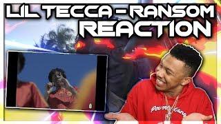 Lil Tecca   Ransom (Dir. By @_ColeBennett_) Reaction Video
