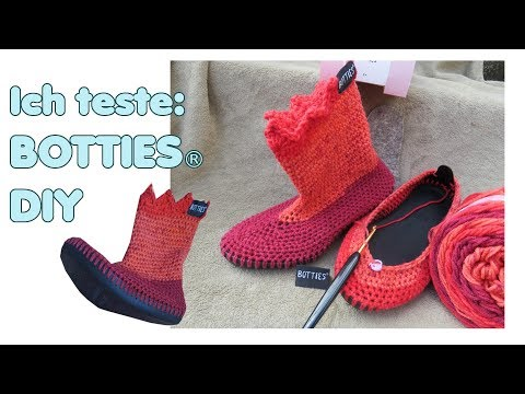Test: BOTTIES® - DIY selber Schuhe häkeln mit den BOTTIES® Sohlen