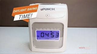 uPunch Time Clock - How to Set HN Series Daylight Saving Time