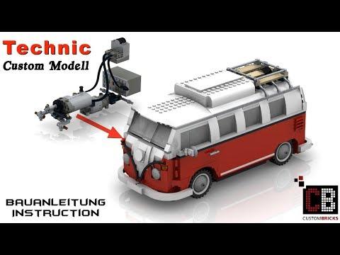 CB LEGO 10220 - Technik RC T1-Bus Anleitung mit Powerfunctions