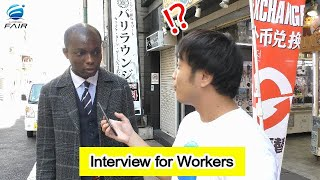 Interview with Foreigners Working in Japan 2019