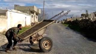 Сирия  Новейший зенитный комплекс боевиков ИГИЛ   (Прикол)