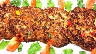Kababu Za Nyama Ya Kusaga / Chapli Kababs