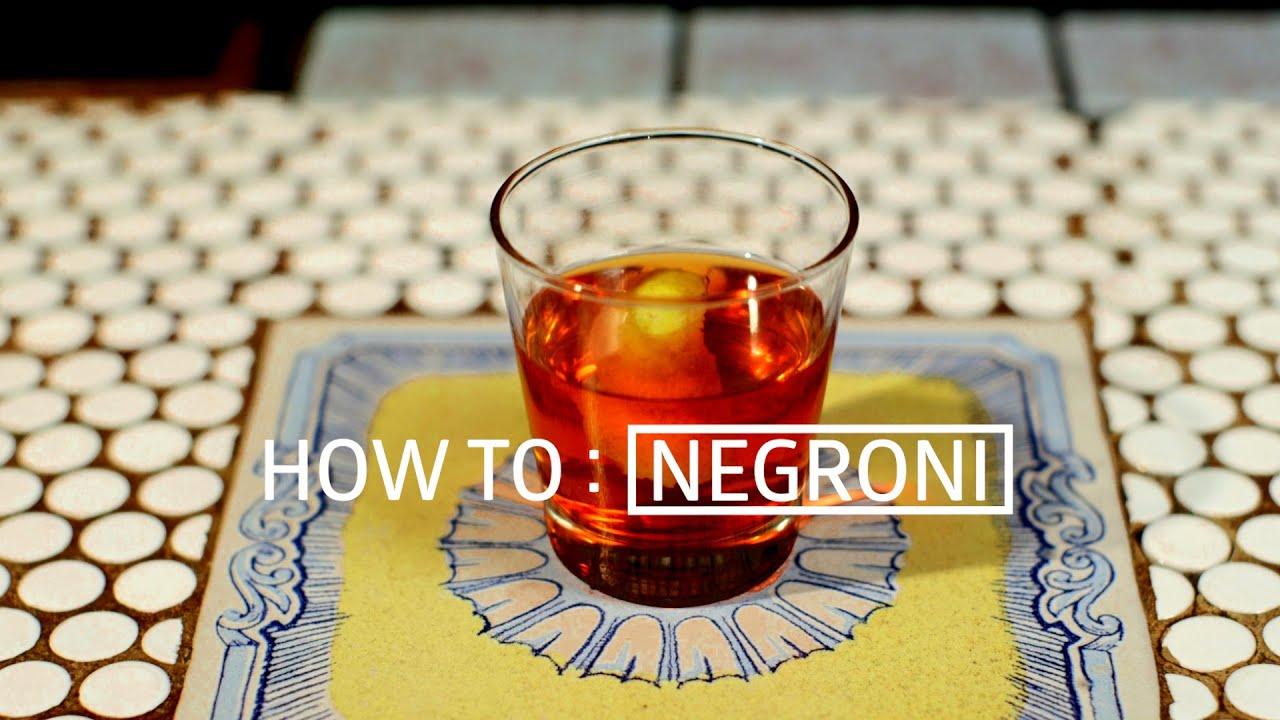 How To Make a Negroni - Eater Drinks thumbnail