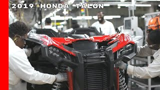2019 Honda Talon 1000X and Talon 1000R ATV