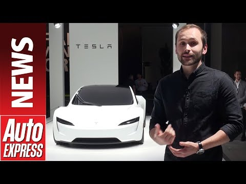 New Tesla Roadster revealed - first look at the 2020 electric sports car