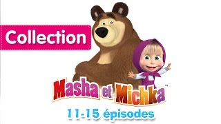 Masha et Michka - Collection 2 (11-15 épisodes) 30 minutes de dessins animés
