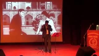 dil bekarar sa hai a karaoke live song by   - YouTube