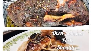 Easy Oven-Roasted Pork Shoulder Butt Recipe | Pork Butt Roast