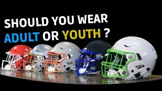 Youth Vs Adult Football Helmet | Which Should You Get??