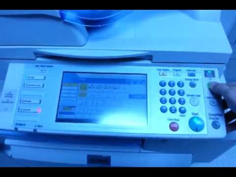Dissembling a Finisher From a Ricoh Copier