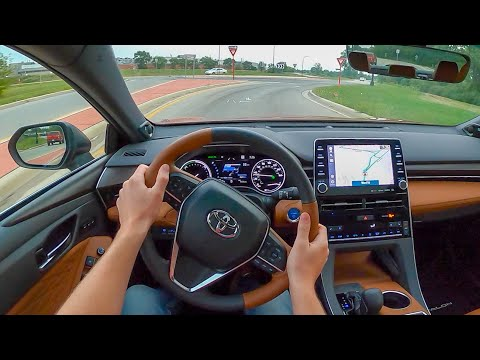 2021 Toyota Avalon Hybrid Limited - POV Test Drive (Binaural Audio)