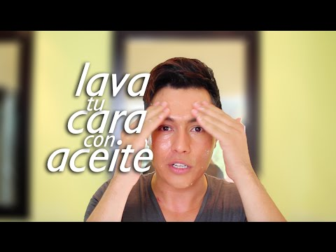 LAVA TU CARA CON ACEITE |  ACEITE PARA LA CARA | YASMANY