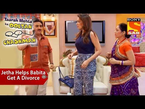 Jethalal Helps Babita Get A Divorce   Taarak Mehta Ka Ooltah Chashmah