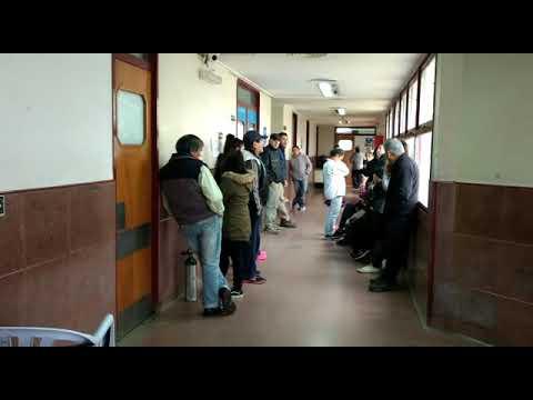 Hospitales públicos desbordados en la Ciudad