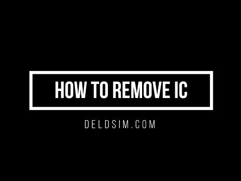 How to Remove IC
