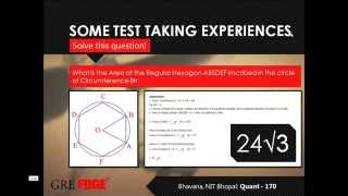 GRE Quant Tutorial - Practise with Experts | Score 170 on 170 | GREedge