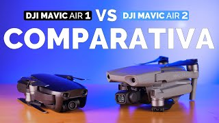 DJI Mavic Air 2 vs Mavic Air 1 - ¿MERECE LA PENA ACTUALIZAR? | COMPARATIVA en Español