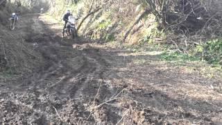 preview picture of video 'Maiali Volanti Cesano tolfa off-road 03.03.13'