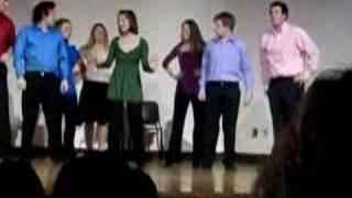 Jordan and Dolan sing Bright College Days