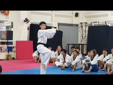 Jump Back-Whip Kick Step 1 (3)