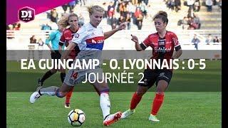 J2 : EA Guingamp - Ol. Lyonnais (0-5)