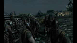 (Skyrim) Атака Двемеров  (Вайтран)