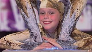"""Dziewczynka wiła się jak wąż na castingu do programu """"Mam Talent!"""""""