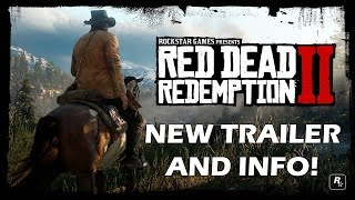 Red Dead Redemption 2 NEW Trailer, Is A Prequel, Features Train Robbery, INSANE PS4 GRAPHICS
