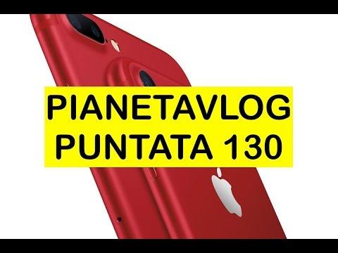 Foto PianetaVlog 130: iPhone 7 Rosso, nuovo iPad, Ulefone Power 2, OnePlus 3T Black
