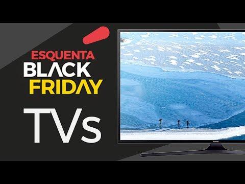 BLACK FRIDAY 2017: As melhores TVs pra comprar na Black Friday