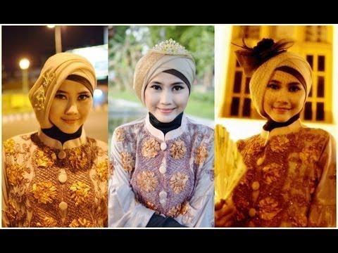 Video Tutorial Hijab Modern Paris | Tutorial Hijab Pesta dan Wisuda by Didowardah - Part #24